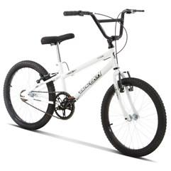 Bicicleta Aro 20 Pro Tork Ultra Freio V Break Rebaixada Branco