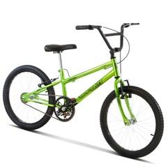 Bicicleta Aro 20 Pro Tork Ultra Freio V Break Rebaixada Green
