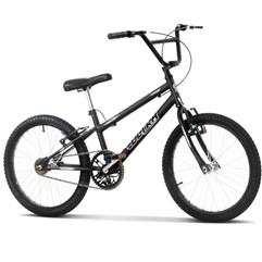 Bicicleta Aro 20 Pro Tork Ultra Freio V Break Rebaixada Preto Fosco