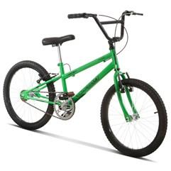 Bicicleta Aro 20 Pro Tork Ultra Freio V Break Rebaixada Verde Kw