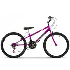 Bicicleta Aro 24 Rebaixada 18 Marchas Ultra Bikes Aro 24