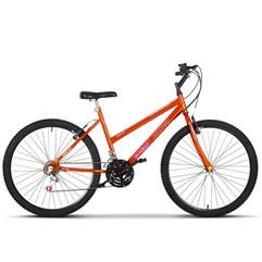 Bicicleta Aro 26 Pro Tork Feminino Freio V Brake Chrome Line