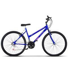 Bicicleta Aro 26 Pro Tork Ultra Feminino Freio V Break Azul