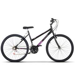 Bicicleta Aro 26 Pro Tork Ultra Feminino Freio V Break Preto