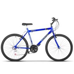 Bicicleta Bike Ultra Masculino Aro 26 Freio V Brake Azul
