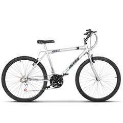 Bicicleta Bike Ultra Masculino Aro 26 Freio V Brake Cinza