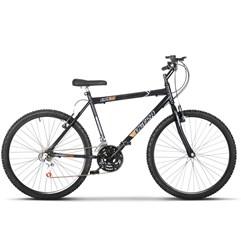 Bicicleta Bike Ultra Masculino Aro 26 Freio V Brake Preto