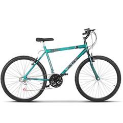 Bicicleta Bike Ultra Masculino Aro 26 Freio V Brake Verde