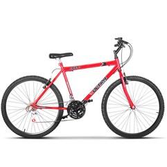 Bicicleta Bike Ultra Masculino Aro 26 Freio V Brake Vermelho Ferrari