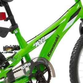 Bicicleta Kawasaki MX1 Aro 20 Verde Infantil