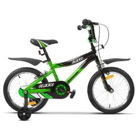 Bicicleta Kawasaki MX3 Aro 16 Verde Infantil