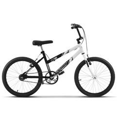 Bicicleta Ultra Aro 20 Feminina Bicolor Preto/Branco Freio V Break