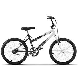 Bicicleta Ultra Aro 20 Feminina Bicolor Preto Fosco Freio V Break