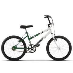 Bicicleta Ultra Aro 20 Feminina Bicolor Verde/Branca Freio V Break