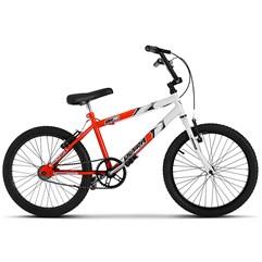 Bicicleta Ultra Aro 20 Masculina Bicolor Laranja/Branco Freio V Break
