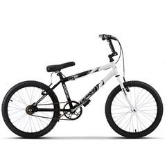 Bicicleta Ultra Aro 20 Masculina Bicolor Preto/Branco Freio V Break
