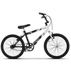 Bicicleta Ultra Aro 20 Masculina Bicolor Preto Fosco Freio V Break