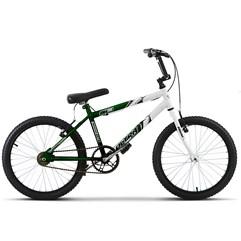 Bicicleta Ultra Aro 20 Masculina Bicolor Verde/Branco Freio V Break