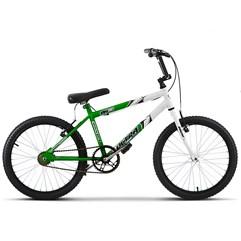 Bicicleta Ultra Aro 20 Masculina Bicolor Verde KW Freio V Break