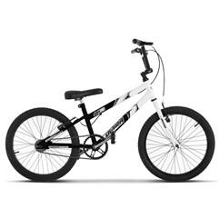 Bicicleta Ultra Aro 20 Rebaixada Preto Fosco Bicolor Freio V Break