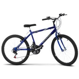 Bicicleta Ultra Aro 24 Masculina Freio V Break Azul
