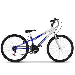Bicicleta Ultra Aro 26 Rebaixada Bicolor Freio V Break