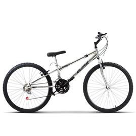 Bicicleta Ultra Aro 26 Rebaixada Freio V Break Chrome Line