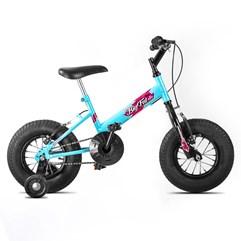 Bicicleta Ultra Bikes Big Fat Infantil Feminina Azul Claro