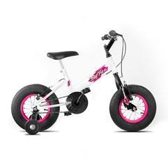 Bicicleta Ultra Bikes Big Fat Infantil Feminina Branco