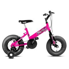 Bicicleta Ultra Bikes Big Fat Infantil Feminina Rosa