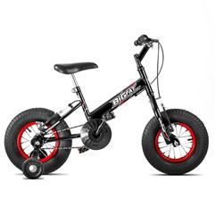 Bicicleta Ultra Bikes Big Fat Infantil Preto Fosco