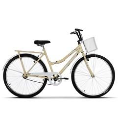 Bicicleta Ultra Bikes Summer Aro 26 Bege/Branco