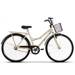 Bicicleta Ultra Bikes Summer Aro 26 Bege/Marrom