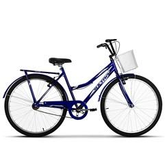 Bicicleta Vintage Retrô Aro 26 Summer Ultra Bikes Azul