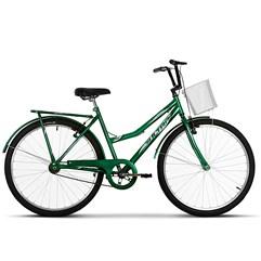 Bicicleta Vintage Retrô Aro 26 Summer Ultra Bikes Verde