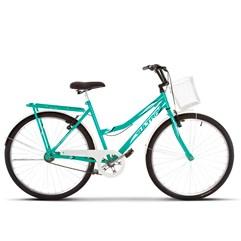 Bicicleta Vintage Retrô Aro 26 Summer Ultra Bikes Verde/Branco