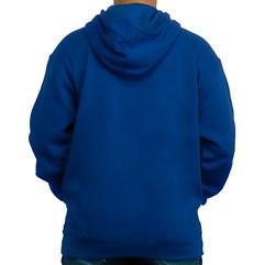 Blusa de Moletom TroyLee Double take Azul Royal