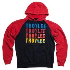 Blusa de Moletom TroyLee Wave Fleece Vermelha