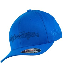Boné Troy Lee Signature Azul