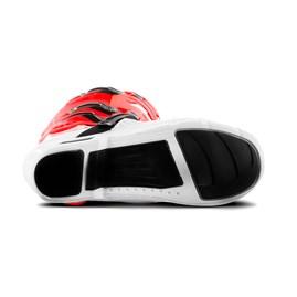 Bota Motocross Articulada Jett Hi-Vis Branco/Vermelho