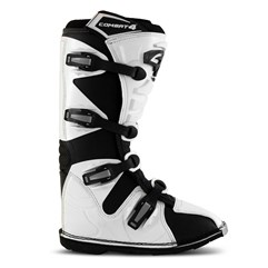 Bota Motocross e Trilha Pro Tork Combat 4 Black/White