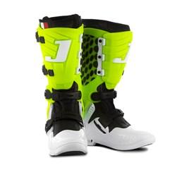 Bota Motocross Jett Lite Branco/Verde Neon