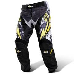 Calça Motocross Infantil Eletric Amarelo
