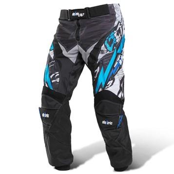 Calça Motocross infantil Eletric Azul