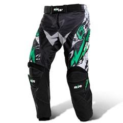 Calça Motocross infantil Eletric Verde