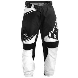 Calça Motocross Infantil Pro Tork Factory Edition Preto/Branco