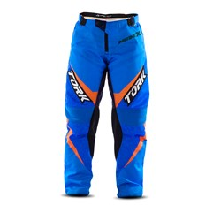 Calça Motocross Infantil Pro Tork Insane X Azul e Laranja