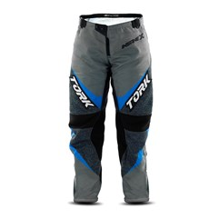 Calça Motocross Infantil Pro Tork Insane X Cinza e Azul