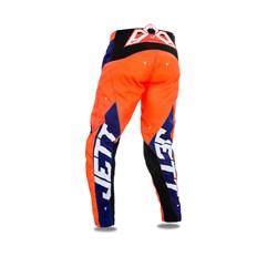 Calça Motocross Jett Evolution 2 Azul Escuro/Laranja