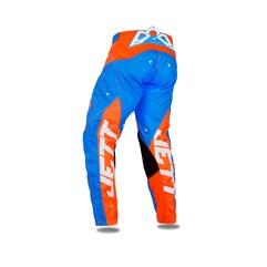 Calça Motocross Jett Evolution 2 Laranja/Azul Claro